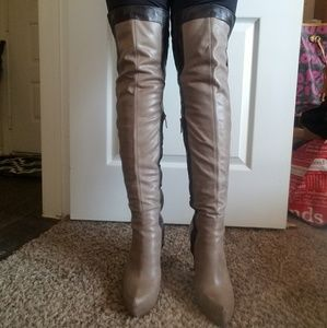2d107a4c08b Guess by Marciano Shoes - Guess By Marciano Netania Over The Knee Boots